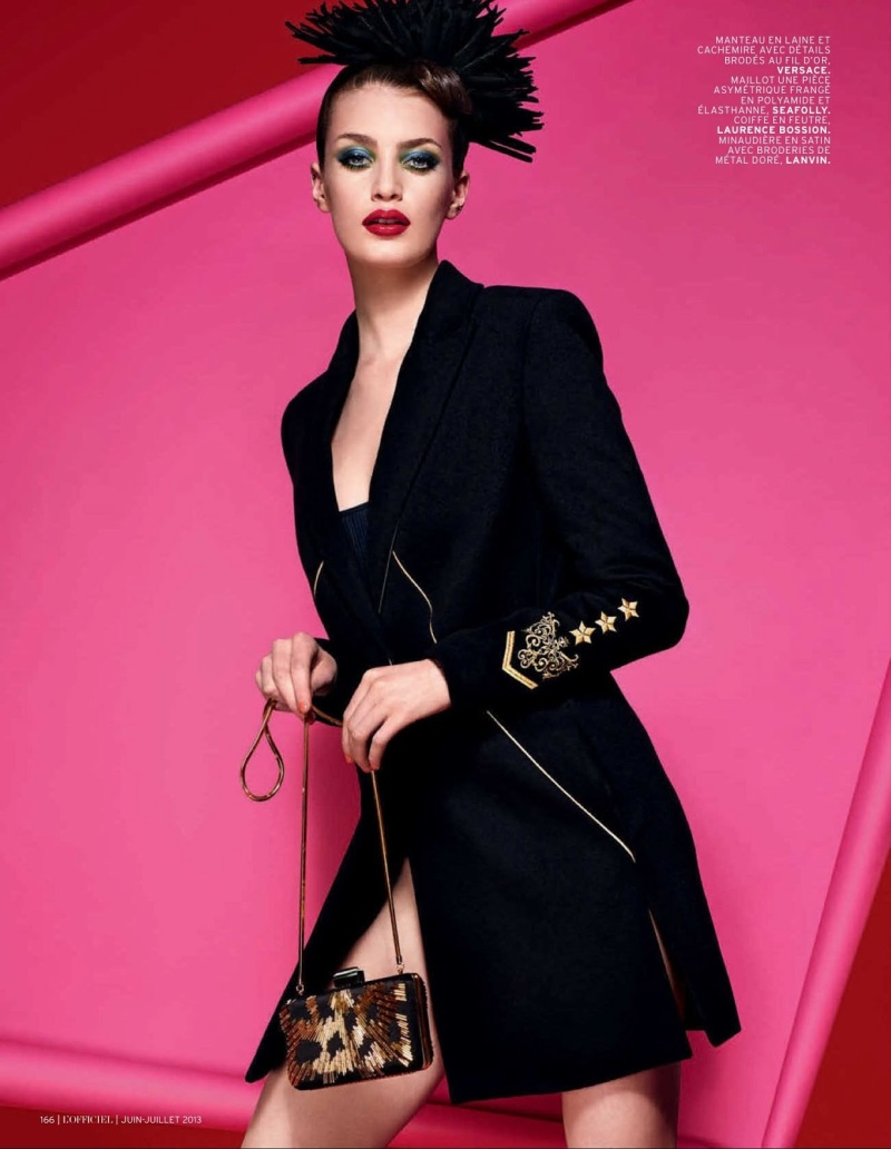Milly Simmonds by Jonathan Segade for L'Officiel Paris June/July 2013