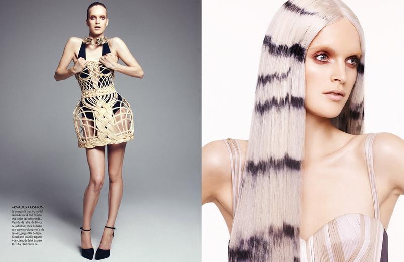 Mirte Maas by Nagi Sakai for Vogue Mexico June 2013
