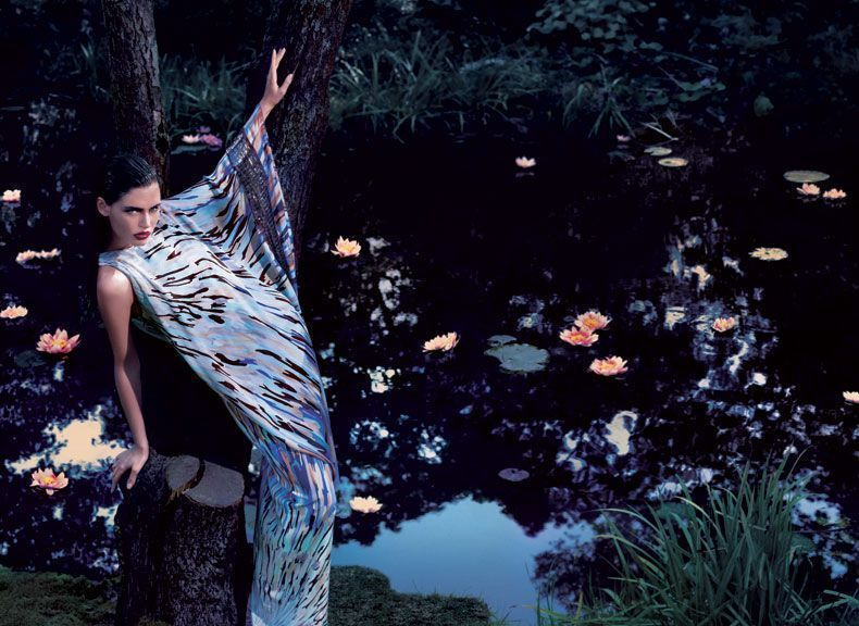 Bianca Balti spring/summer 2008 campaign photo by Camilla Akrans
