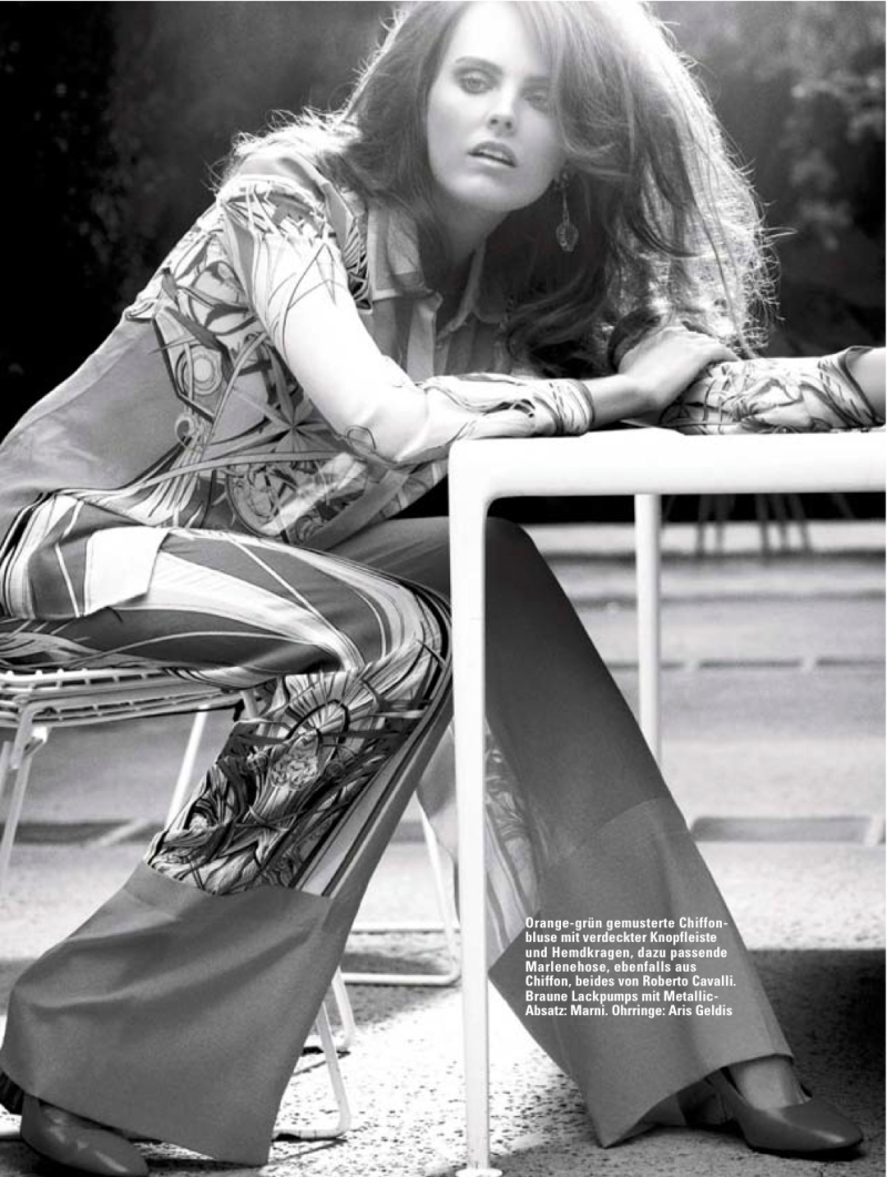 Myf Shepherd By David Roemer For Glamour Germany June 2013