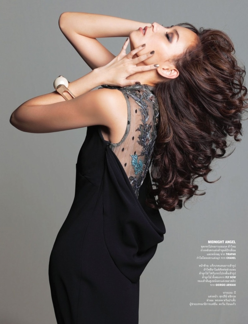 Namthip Jongrachatawiboon by David Bellemere for Vogue Thailand June 2013