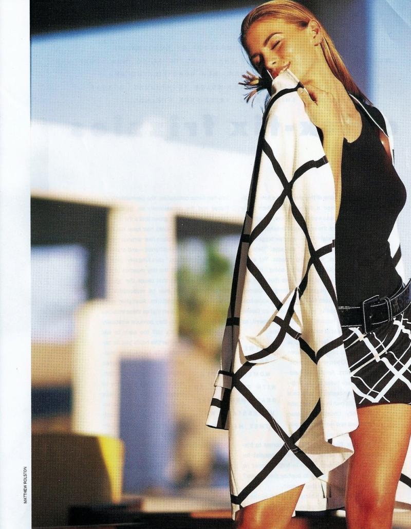 Nikki Taylor by Matthew Rolston for Harper's Bazaar June 1991