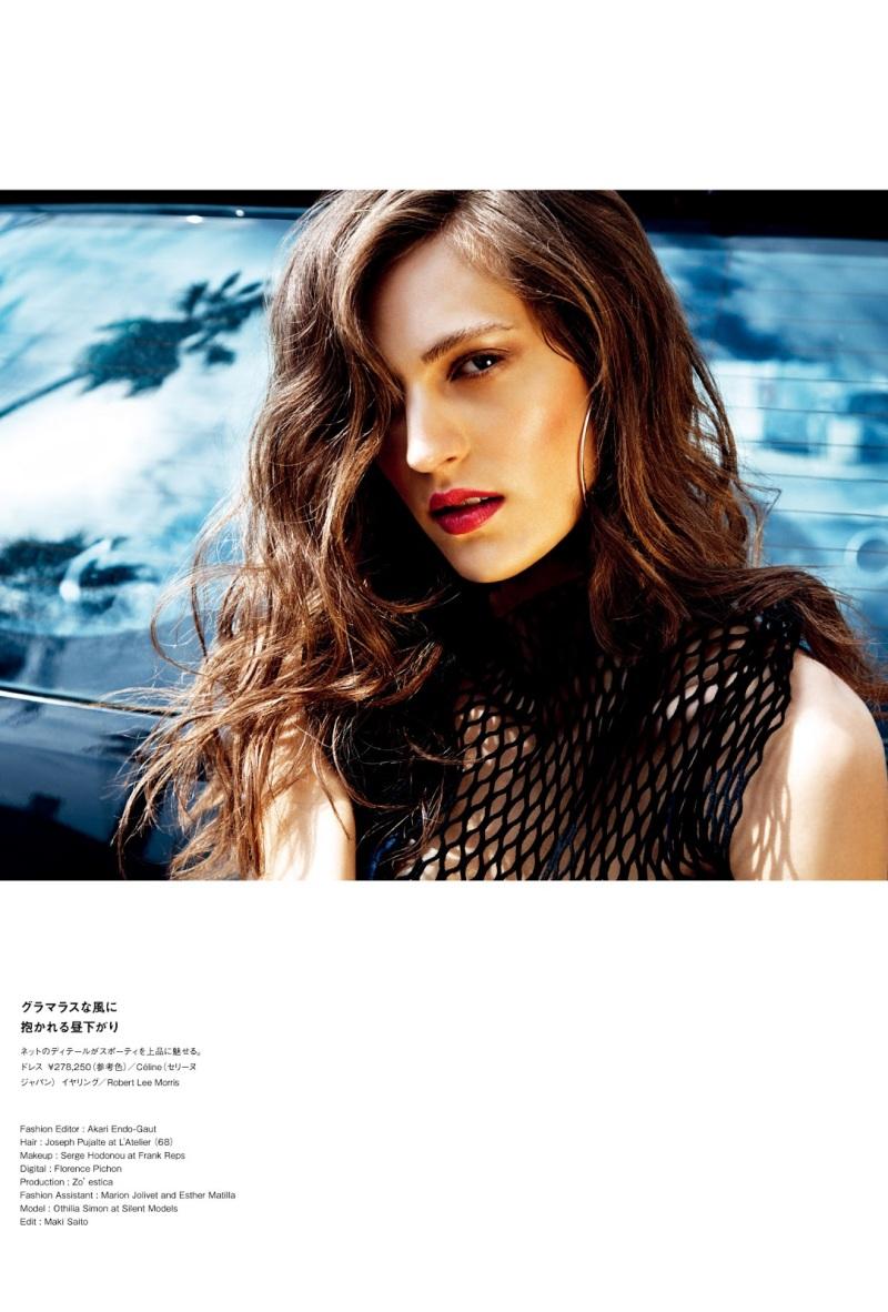 Othilia Simon By Carlotta Manaigo For Numero Tokyo #67 June 2013