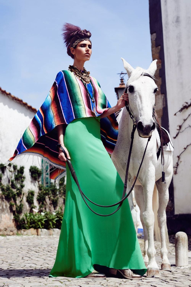 Paulina Kube By Marcin Kempski For Harper's Bazaar Poland June 2013