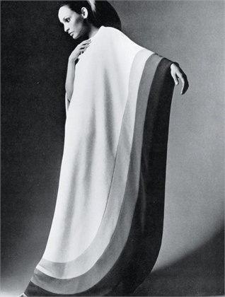 Photo by Barry Lategan 1970 Dress Balestra  Vogue Italia, February 1970