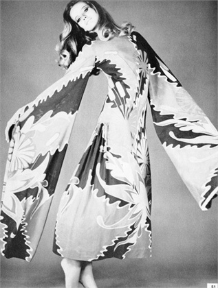 Photo by Franco Rubartelli 1968 Dress Marucelli Vogue Italia, February 1968