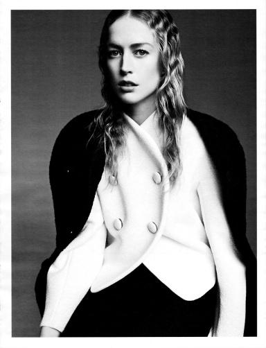 Raquel Zimmermann by Karim Sadli for W June/July 2013
