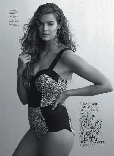 Robin Lawley by Stephen Warn for Vogue Australia June 2013