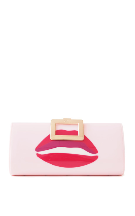 Roger Vivier: Limited Edition Rendez-Vous Collection A Kiss Clutch