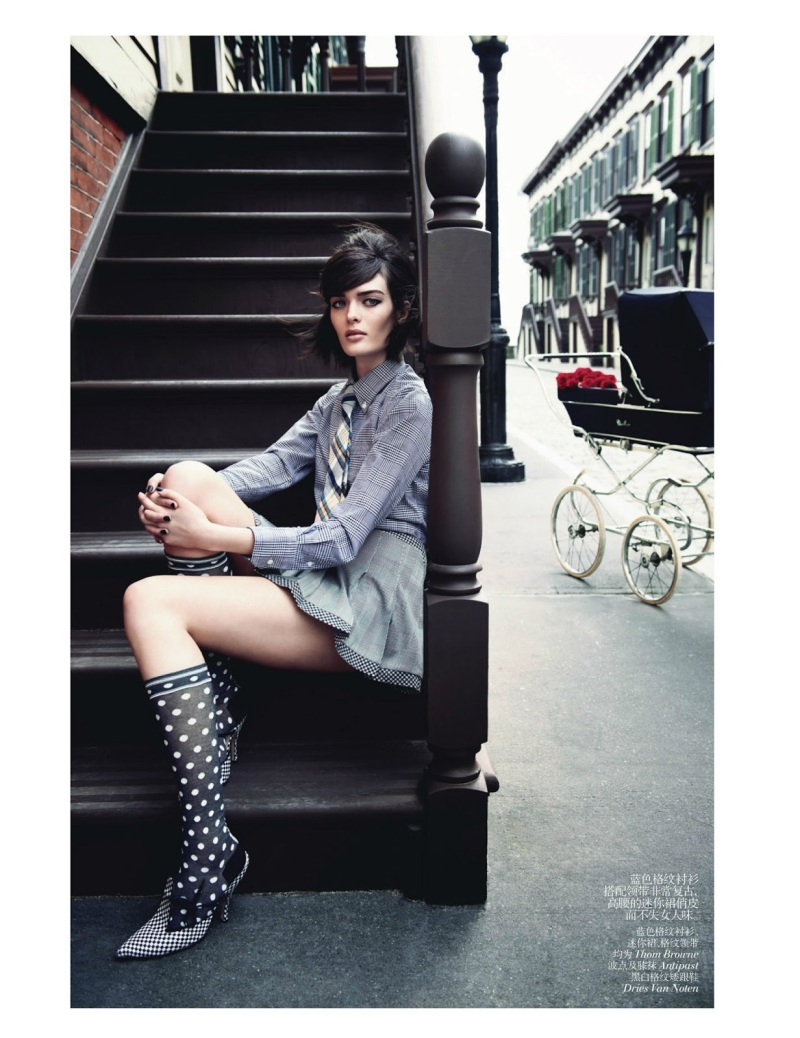 Sam Rollinson By Max Vadukul For Vogue China June 2013
