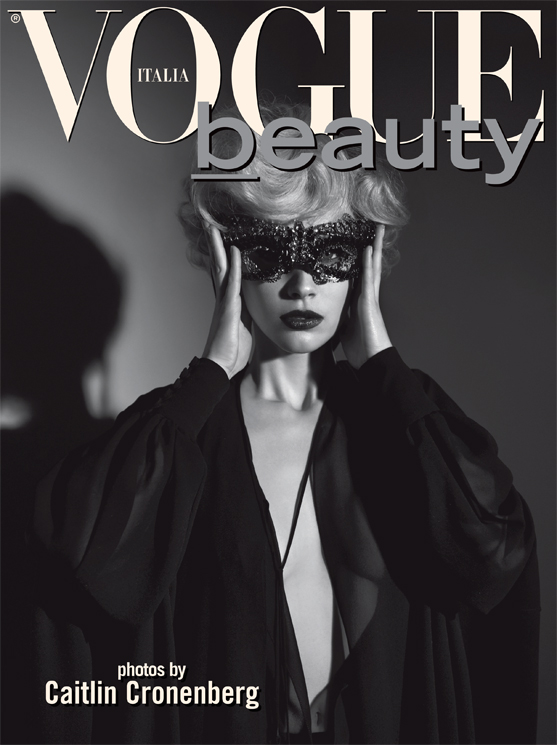 Sarah Gadon by Caitlin Cronenberg for Vogue Italia May 2013