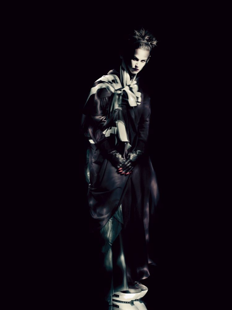 Saskia De Brauw  By Paolo Roversi for Interview May 2013