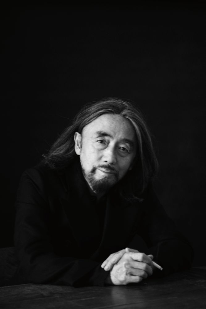 Yohji Yamamoto By Paolo Roversi for Interview May 2013