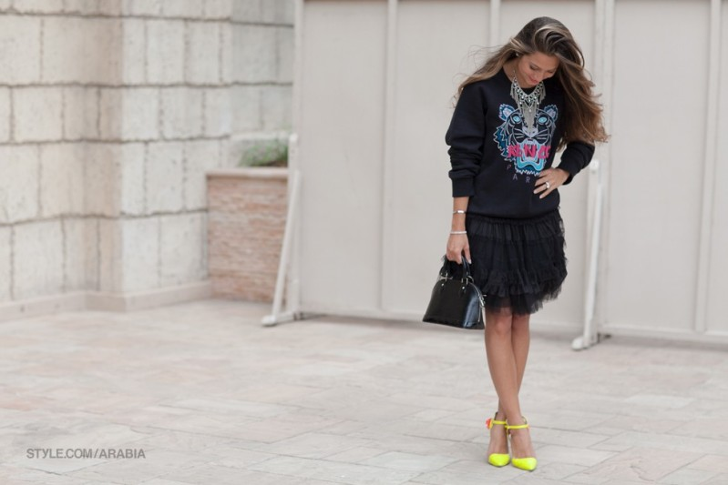 Street Style At Fashion Forward Dubai photo by Moez Achour