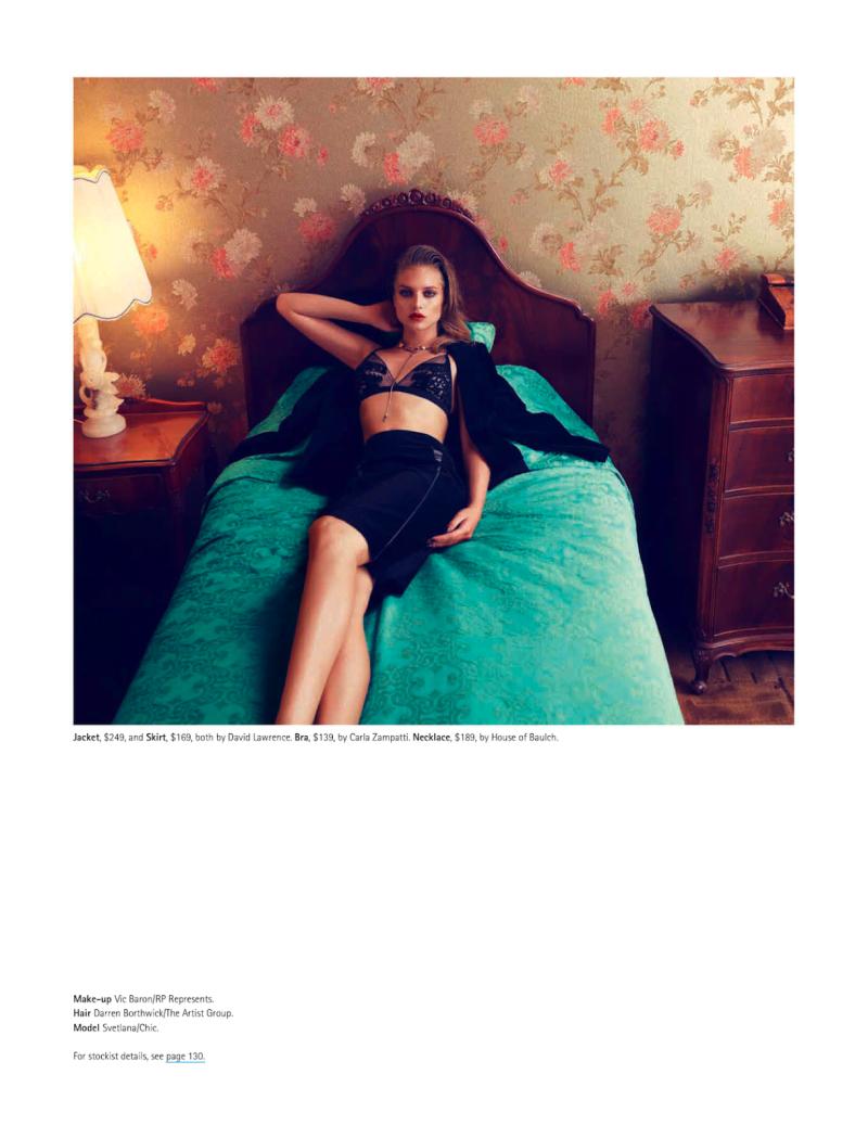 Svetlana Zakharova By Georges Antoni For Madison May 2013