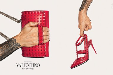 Terry Richardson For Valentino Acessories Fall/Winter  2013-2014 Campaign