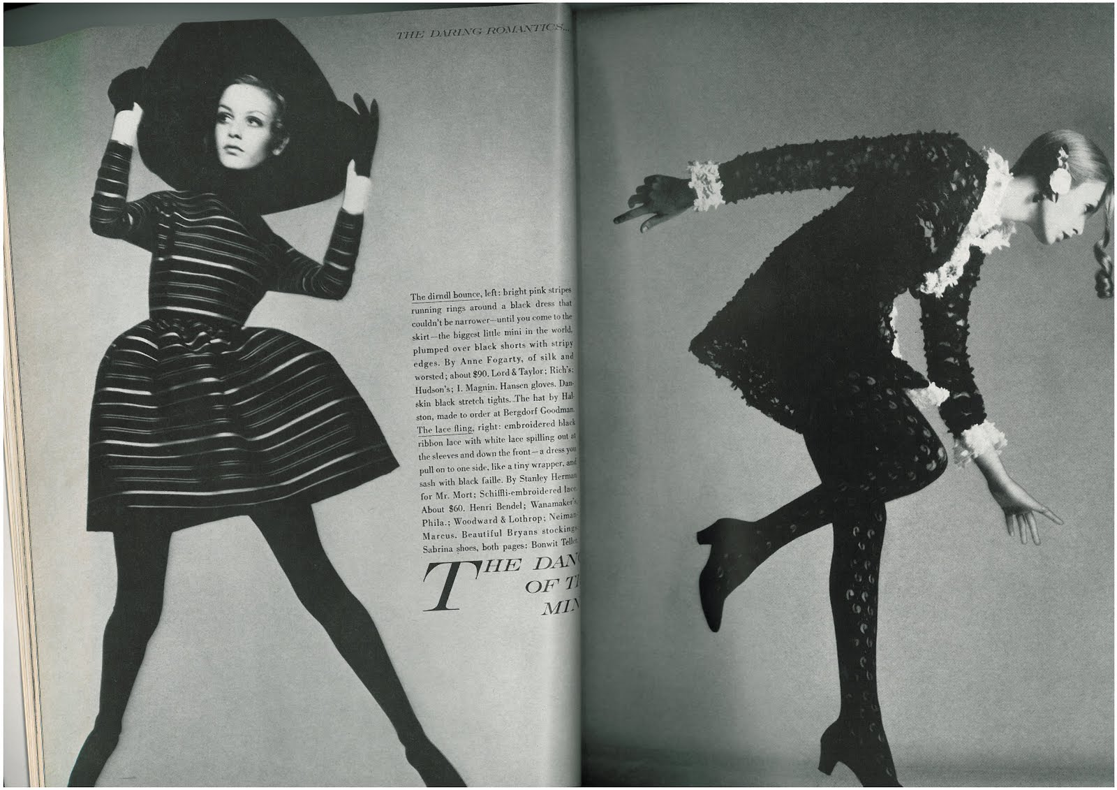 Twiggy by Richard Avedon for Vogue US July 1967 ,2