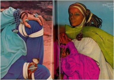 Veruschka by Franco Rubartelli for Vogue US July 1968