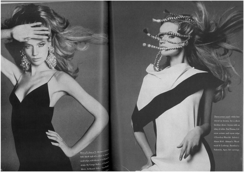 Veruschka by Richard Avedon for Vogue US March 1967