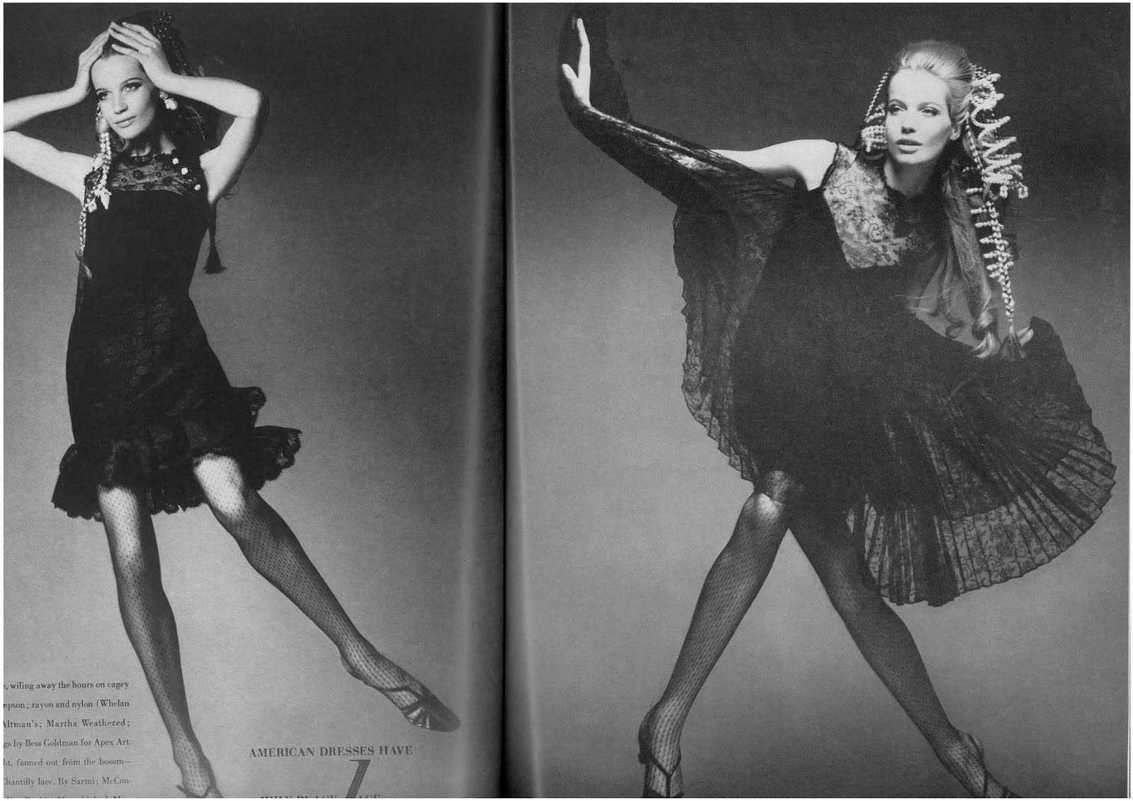 veruschka by richard avedon for vogue us march 19676