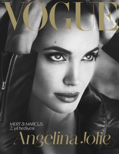 Angelina Jolie By Mert & Marcus For Vogue Turkey March 2012
