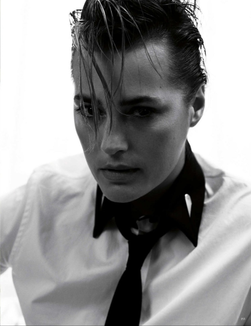 Yasmin Le Bon by Claudia Knoepfel & Stefan Indlekofer for Vogue Germany June 2013