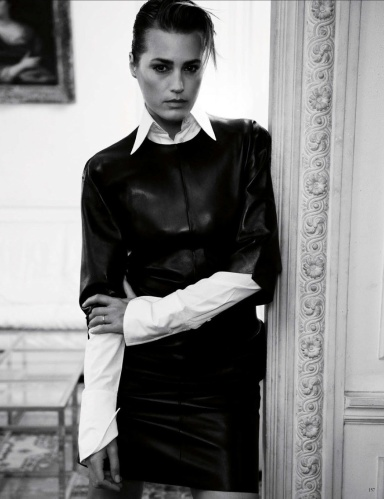 Yasmin Le Bon by Claudia Knoepfel & Stefan Indlekofer for Vogue Germany June 2013