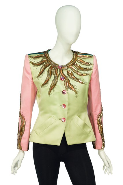 Suzy Menkes To Auction Her Wardrobe  Yves Saint Laurent Le Soleil jacket  Estimate- £1,000 - £2,000