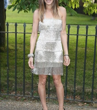 Actress Sarah Jessica Parker in Naeem Khan