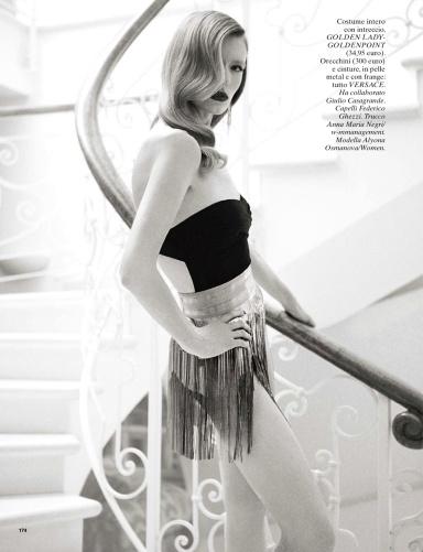 Alyona Osmanova By Richard Phibbs For Glamour Italia June 2013