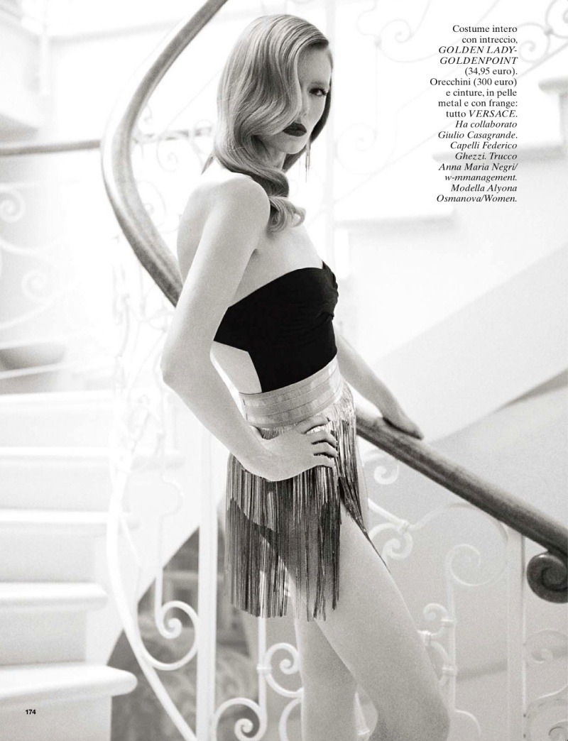 Alyona Osmanova By Richard Phibbs For Glamour Italia June 2013
