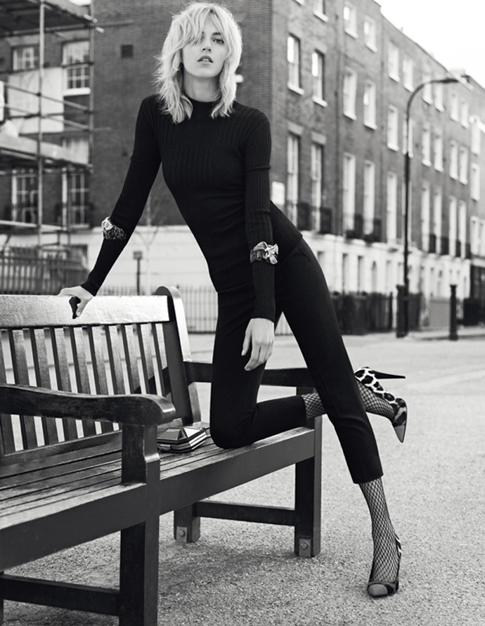 Anja Rubik For Giuseppe Zanotti Fall/Winter 2014 Advertising Campaign
