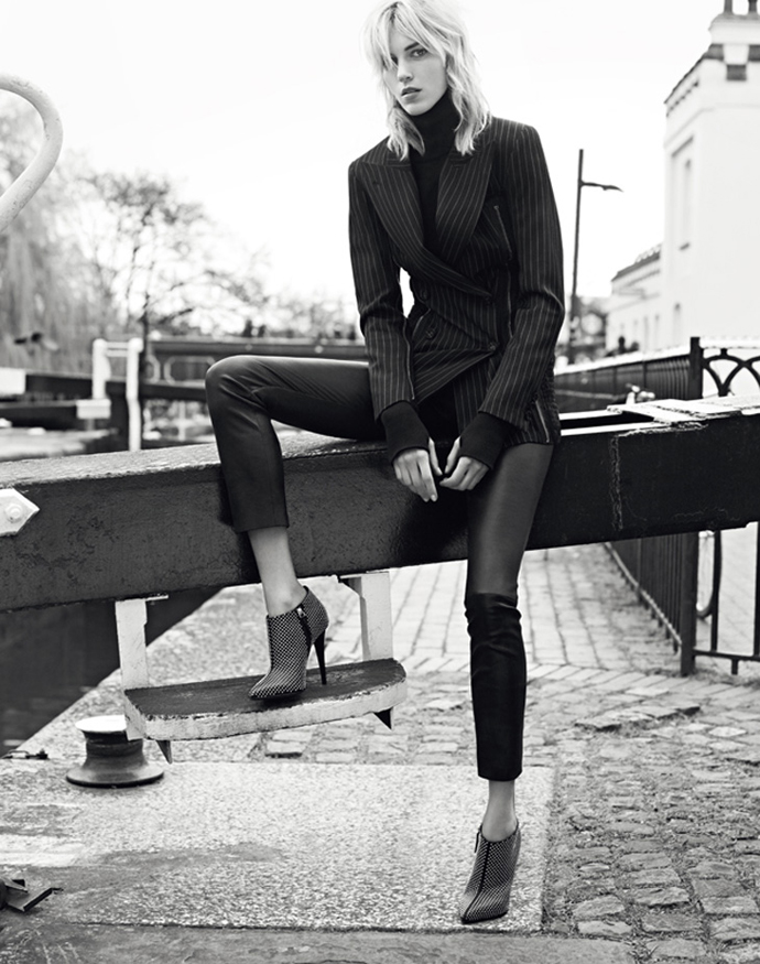 Anja Rubik For Giuseppe Zanotti Fall/Winter 2014 Advertising Campaign