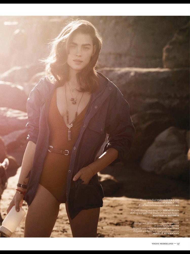 Bambi Northwood-Blyth By Annemarieke Van Drimmelen For Vogue Netherlands July 2013