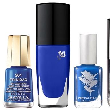 Blue Nail Polishes Summer 2013