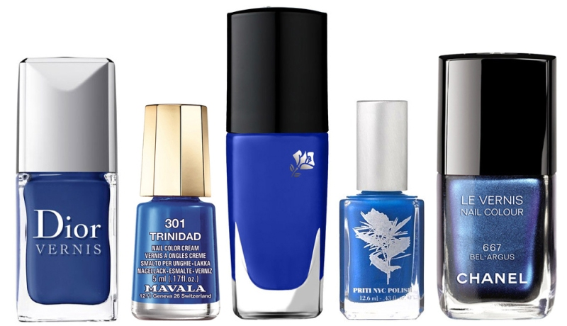 Blue Nail Polishes Summer 2013