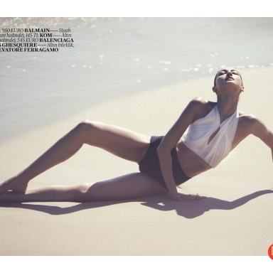 Bruna Tenório By David Bellemere For Vogue Turkey June 2013