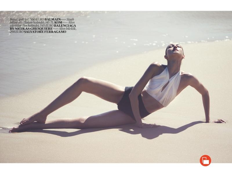 Bruna Tenório By David Bellemere For Vogue Turkey June 2013