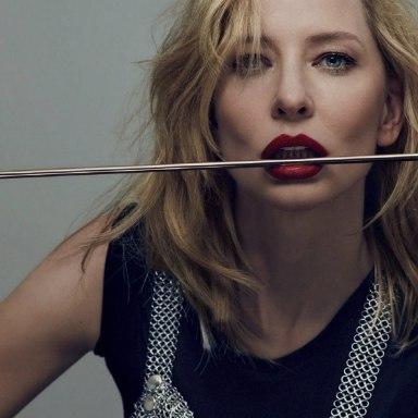 Cate Blanchett by Sean & Seng for 032C Magazine