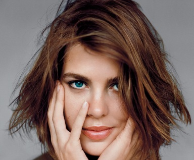 Charlotte Casiraghi by Alasdair McLellan for Vogue UK July 2013