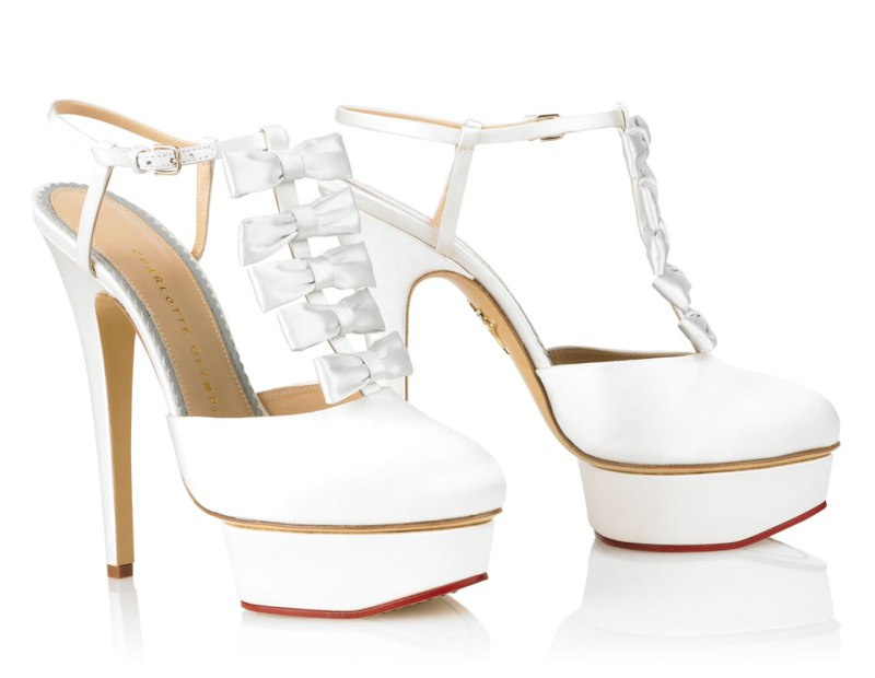 Charlotte Olympia : Runaway Bride Summer 2013 Collection