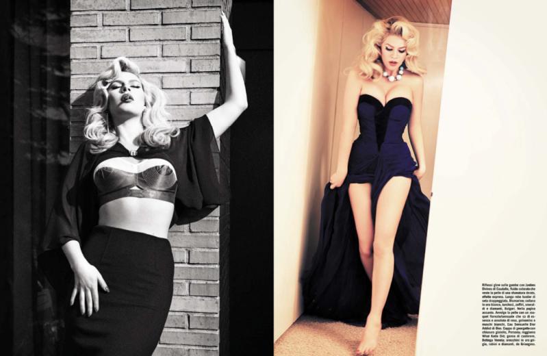 Chloe Hayward by Ellen Von Unwerth for Vogue Italia June 2013