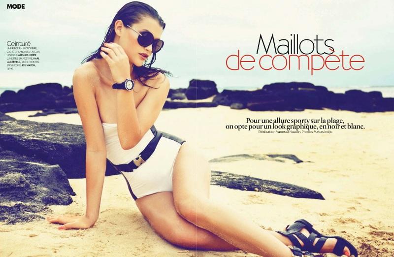 Chloe Lecareux By Matias Indjic For Biba July 2013