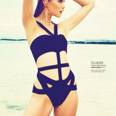 Chloe Lecareux By Matias Indjic For Biba July 2013