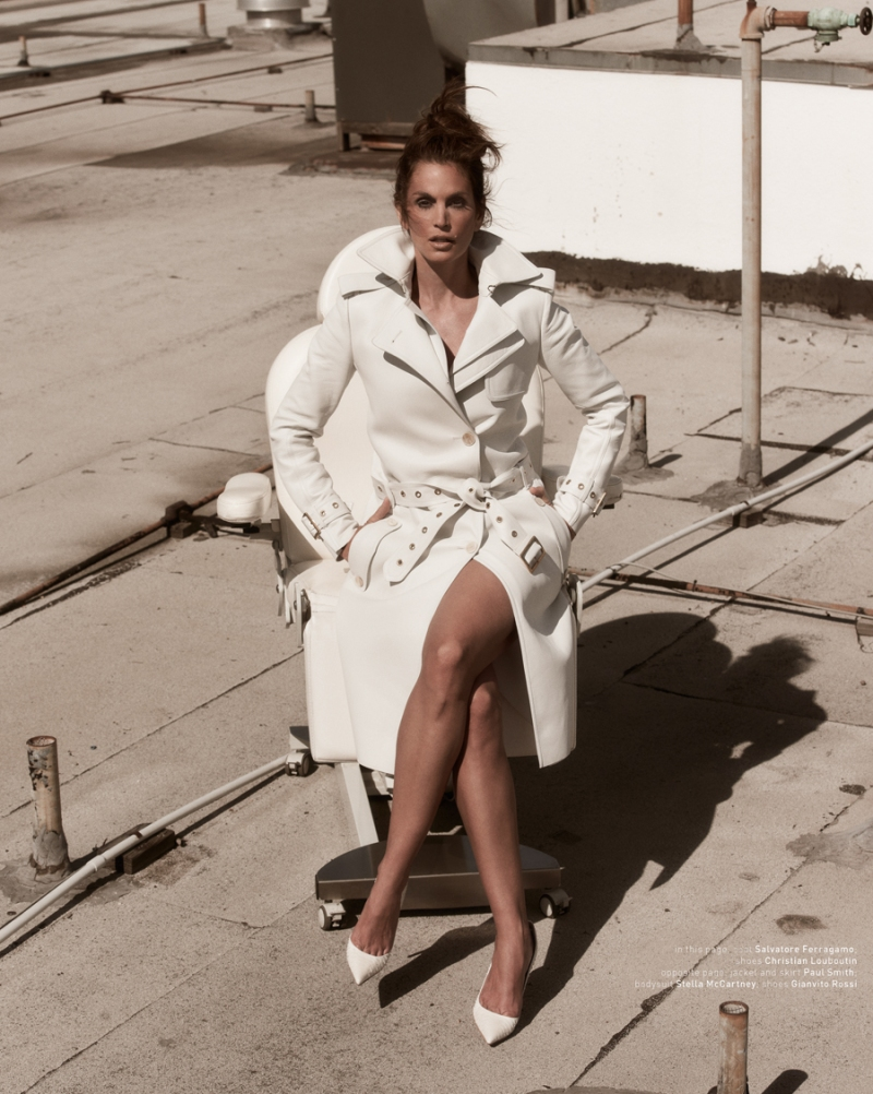 Cindy Crawford by Mariano Vivanco for Muse #34 Summer 2013