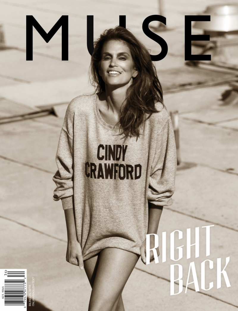 Cindy Crawford by Mariano Vivanco for Muse Summer 2013