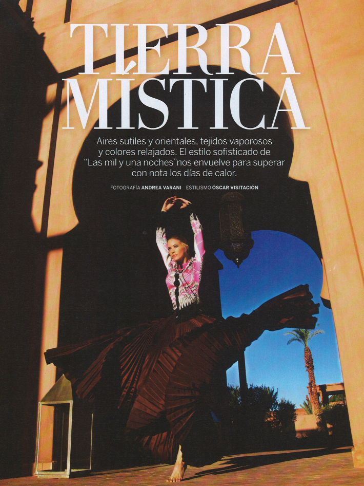 Cristina Tosio by Andrea Varani for Woman June 2013