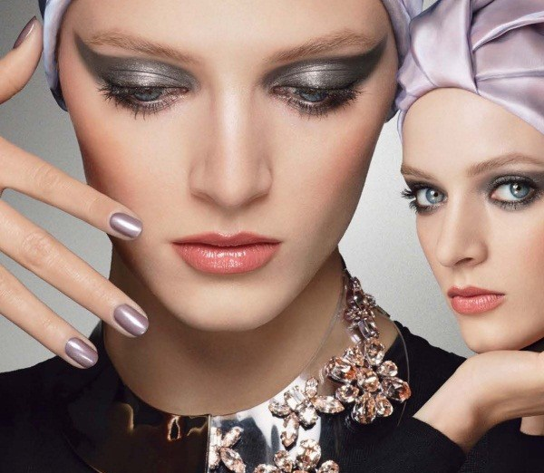 Daria Strokous by Steven Meisel for Dior Beauty Fall/Winter 2013-2014 Ad Campaign
