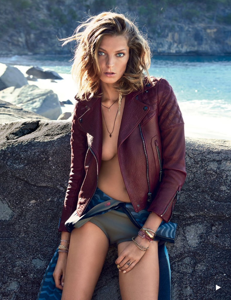 Daria Werbowy by Patrick Demarchelier for Vogue Spain July 2013 -10