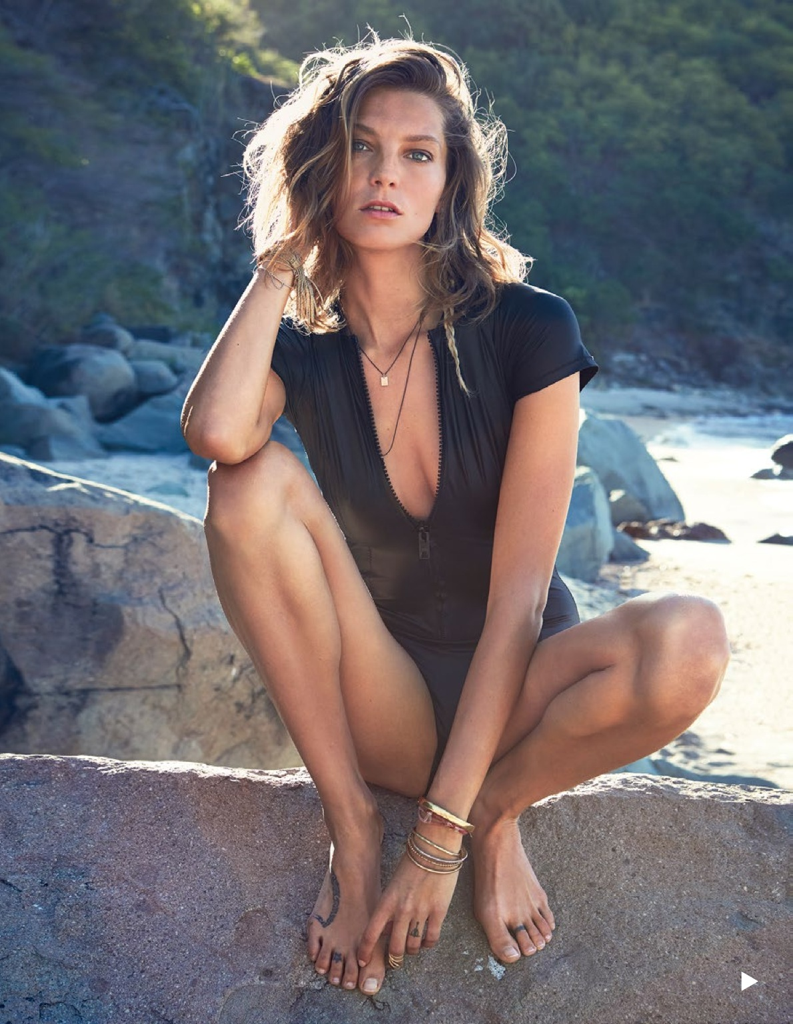 Daria Werbowy by Patrick Demarchelier for Vogue Spain July 2013